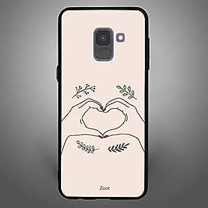 Samsung Galaxy A8 Plus Hand Heart