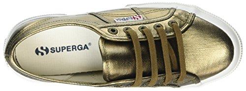 Superga Unisex-Erwachsene 2750 Cotmetu Sneakers Gold (Bronze)
