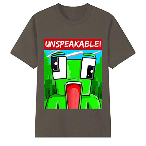 (YSLD5Y5 Unspeakable Shirt for Youth & Kids Short Sleeve T-Shirts Top Tees)