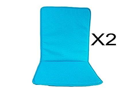 Cuscini Con Schienale Per Sedie Da Esterno : Catay home cuscini con schienale per sedie da esterno per
