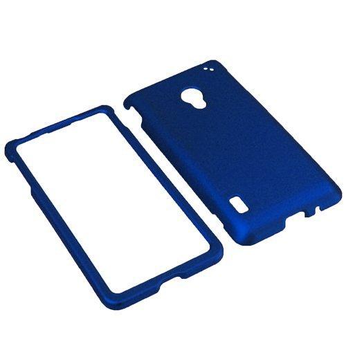 BW Hard Shield Shell Cover Snap On Case for Verizon LG Lucid 2 VS870 -Blue (Lg Lucid 2 Phone Cases)