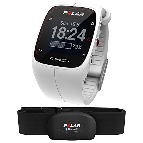 Polar M400 - Reloj deportivo (128 x 128 Pixeles, Color blanco, Polimero de litio, -10 - 50 °C), Color- White: Amazon.es: Relojes