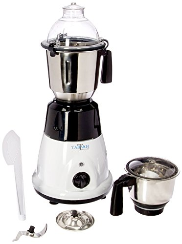 Tabakh Lite Indian Mixer Grinder | 2-Jar | 750 Watts | 11...