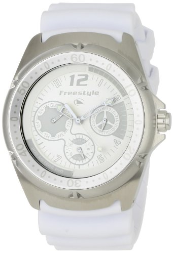 Watch Hammerhead Dive (Freestyle Women's 'The Hammerhead LDS' Quartz Stainless Steel and Polyurethane Sport Watch, Color:White (Model: FS84940))