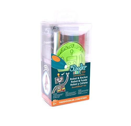 3Doodler Start Rocket & Robot DoodleBlock Kit by 3Doodler (Image #2)
