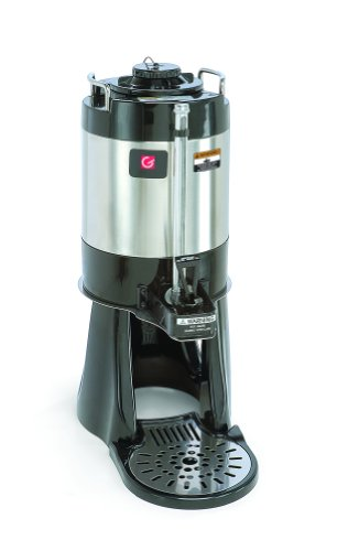 Grindmaster-Cecilware VS-1.5S Vacuum Insulated Shuttle with Stand, 1.5-Gallon, Black and Stainless (Grindmaster Vacuum)