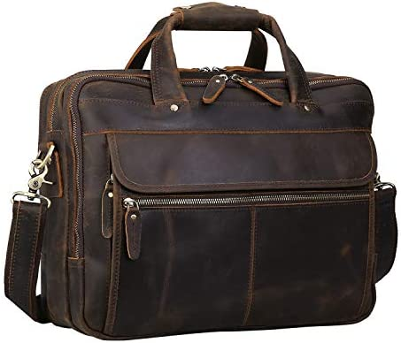 Polare Leather Laptop Business Briefcase product image