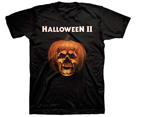 Halloween Movie Shirt (Hybrid Halloween II Movie Poster Mens Black T-Shirt)