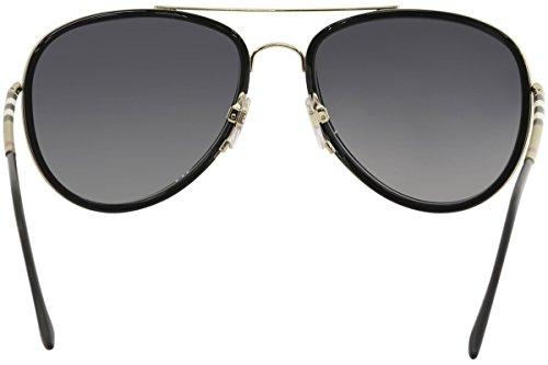 Montures 1167t3 Gold De Homme 0be3090q Burberry polargreygradient 58 Light black Lunettes Noir brushed W6gtxv1