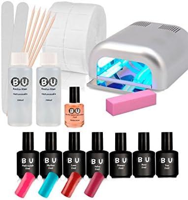Pack de Manicura Semipermanente UV: Amazon.es: Belleza