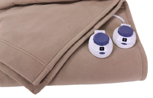 Perfect Fit Soft Heat Luxury Micro-Fleece Low-Voltage Ele...