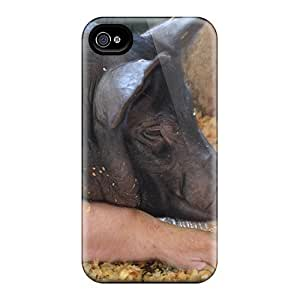 MeSusges Design High Quality Big Piggy Cover Case With Excellent Style For Iphone 4/4s