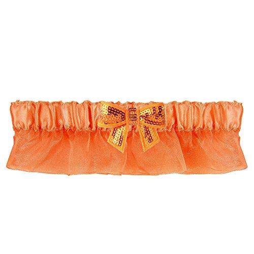 (Ivy Lane Design Bella Sequin Bow Garter,)