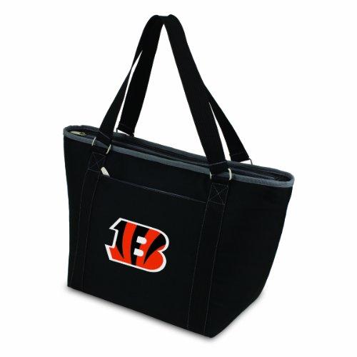 (NFL Cincinnati Bengals Topanga Insulated Cooler Tote, Black)