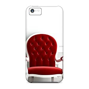 UuN13933VNAq Case Cover Red Chair Iphone 5c Protective Case