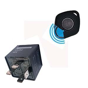 YOUANDMI 12V Alarma Coche Relé Sin Instalacion con USB ...