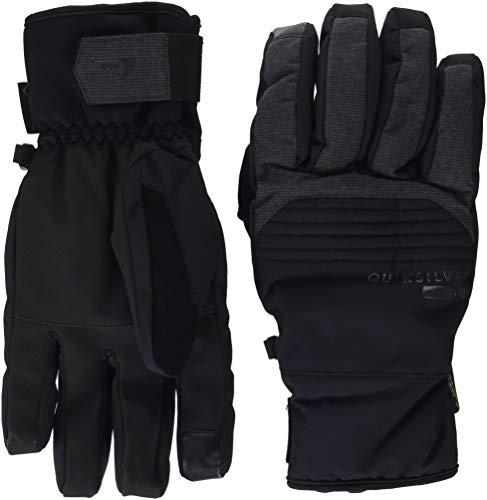 Quiksilver Men's Hill Gore-TEX TECH Snow Gloves, black M