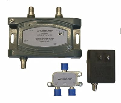 Winegard HDA-200 Distribution Amplifier Adjustable Gain 5-1000 MHz 24dB from Winegard Company