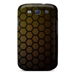 Excellent Design Honeycomb Pattern Phone Case For Galaxy S3 Premium Tpu Case