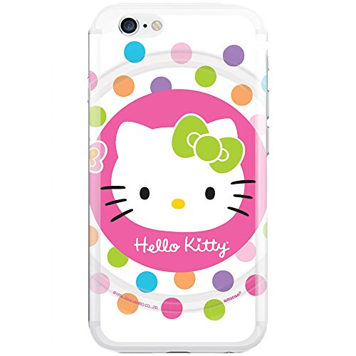 [Ashley Cases] TPU Clear Skin Cover Case for iPhone 5/5S - Hello Kitty - Kitty 5s Case Hello