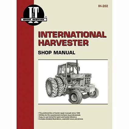 amazon com i\u0026t shop manual ih 202 harvester (farmall 706 Farmall Parts Diagram
