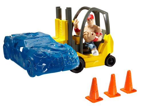 WWE Rumblers Forklift Smash Playset by WWE