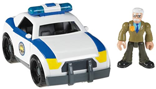 Imaginext DC Super Friends Commissioner Gordon and Police Car
