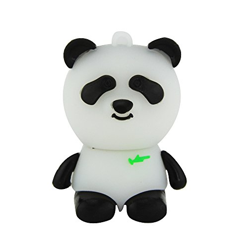 - Flash Drive,DIGIBLUSKY 16GB/32GB/64GB/ Novelty Panda Shape Design USB 2.0 Animal Flash Drive Cute Memory Stick Thumb Drive Data Storage Pendrive Cartoon Jump Drive Gift (32GB, Panda)