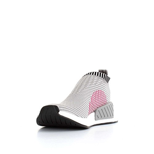 adidas Women's NMD_cs2 Pk W Low-Top Sneakers dgh solid grey-ftwr white-shock pink F2TJXwrRp
