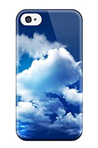 Protective Tpu Case With Fashion Design For Iphone 4/4s (cloudy Sky) by mcsharks