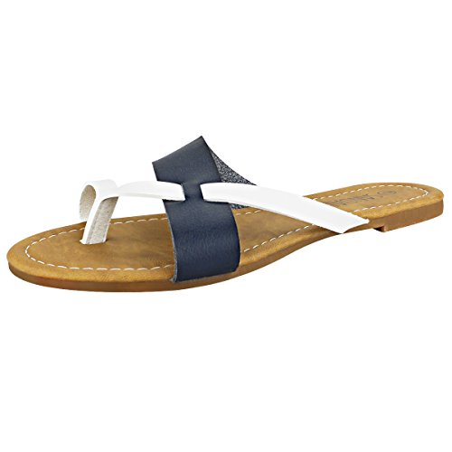 SANDALUP - Sandalias toering para mujer Blanco