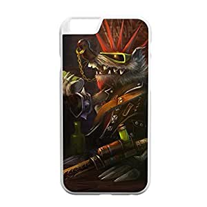 Twitch-002 League of Legends LoL case cover for Apple iPhone 6 - Plastic White