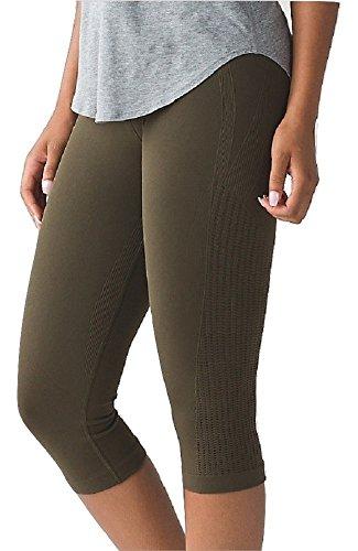 Lululemon Flow & Go Crop III Yoga Pants (Astro Blue, 4)