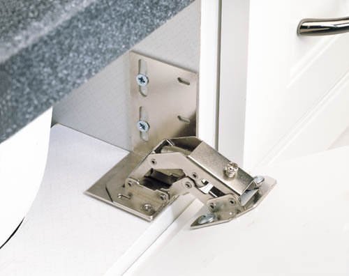 Tip-Out Tray Cut-To-Size with 1 Pair ETH Hinges/End Caps Sink & Base Accessories - 6551-36-15-ETH - 36''W x 2-7/16''D x 3-15/16''H - Almond by handyct
