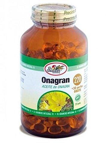 Aceite de Onagra 220 perlas de El Granero Integral