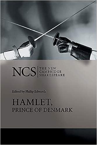 hamlet new cambridge  : Hamlet, Prince of Denmark (The New Cambridge Shakespeare ...