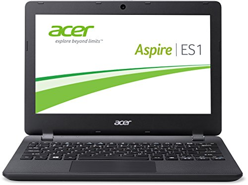 Acer Aspire ES1-331-C8XF 33,8 cm (13,3 Zoll HD) Notebook (Intel Quad-Core Celeron N3150, 4GB RAM, 500GB HDD, Intel HD Graphics, Windows 10 Home) schwarz
