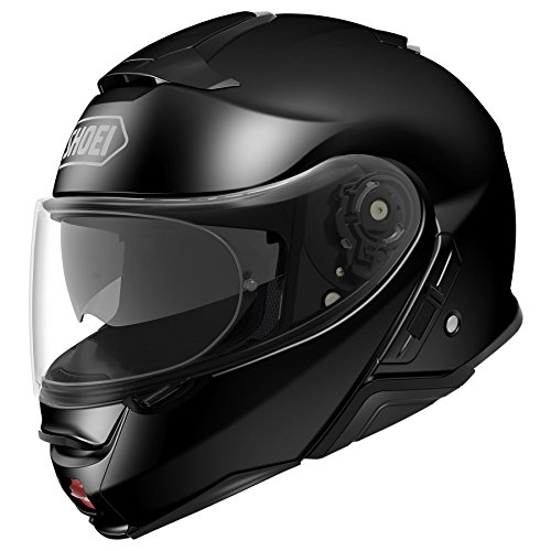 Shoei Neotec II Flip-Up Motorcycle Helmet Black Large (Additional Size and Colors) (Shoei Neotec Modular Helmet Best Price)