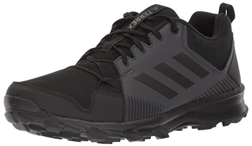 adidas outdoor Men's Terrex Tracerocker Trail Running Shoe, Utility Black, 11.5 D US