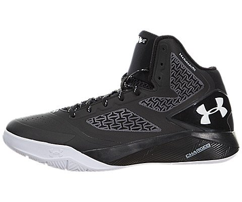 huge discount f0557 9a0c8 Under Armour Men's UA ClutchFit Drive 2 Basketball Shoes (Black/White, 10.5  D(M) US)