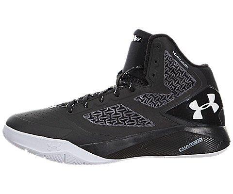 Under Armour Men's UA ClutchFit Drive 2 Basketball Shoes (Black/White, 10.5 D(M) - 7 Park Bryant