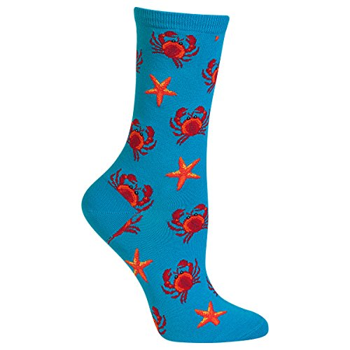 - Hot Sox Women's Crab and Starfish Sock