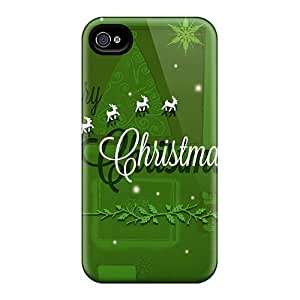 For KFwfQyv1008wKagY Merry Christmas 2014 Protective Case Cover Skin/iphone 4/4s Case Cover
