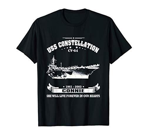 (USS Constellation (CV-64) - Connie Tshirt )