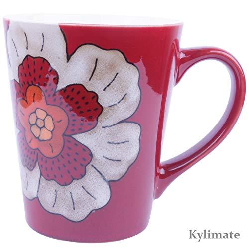 Red Flower Mug - 1