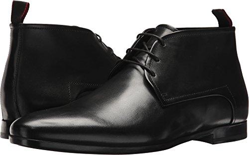 Boss Men Shoes (BOSS Hugo Boss Men's Pariss Leather Lace-Up Derby by Hugo Black 10 D US)