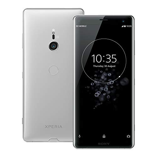Sony Xperia XZ3 (H9493) 6GB / 64GB,6.0-inches LTE Dual SIM Factory Unlocked - International Stock No Warranty (White Silver)