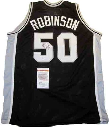 David Robinson Autographed Signed Spurs Jersey