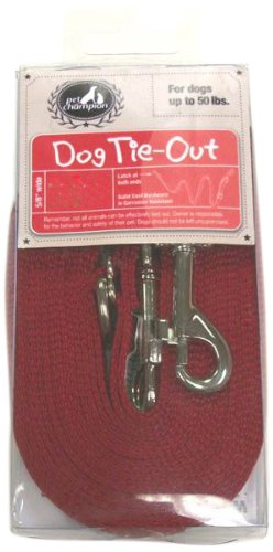 Pet Champion Poly Tie Out, 15-Feet by Pet Champion