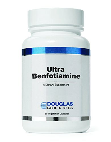 - Douglas Laboratories - Ultra Benfotiamine - Supports Circulation, Nervous System, and Metabolism* - 60 Capsules
